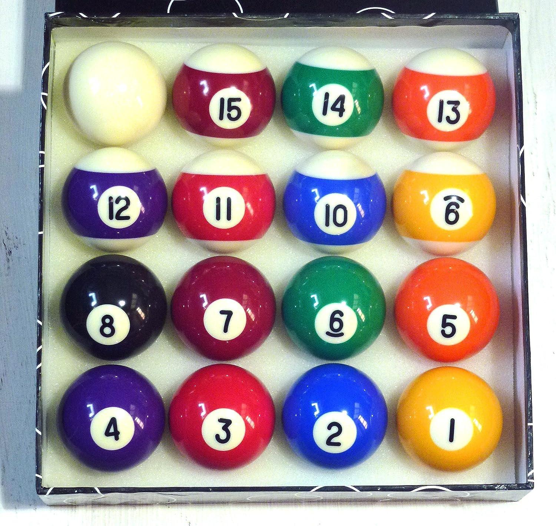 Pois et rayures 17/20,3cm (47.6mm) boules de billard * * SGL