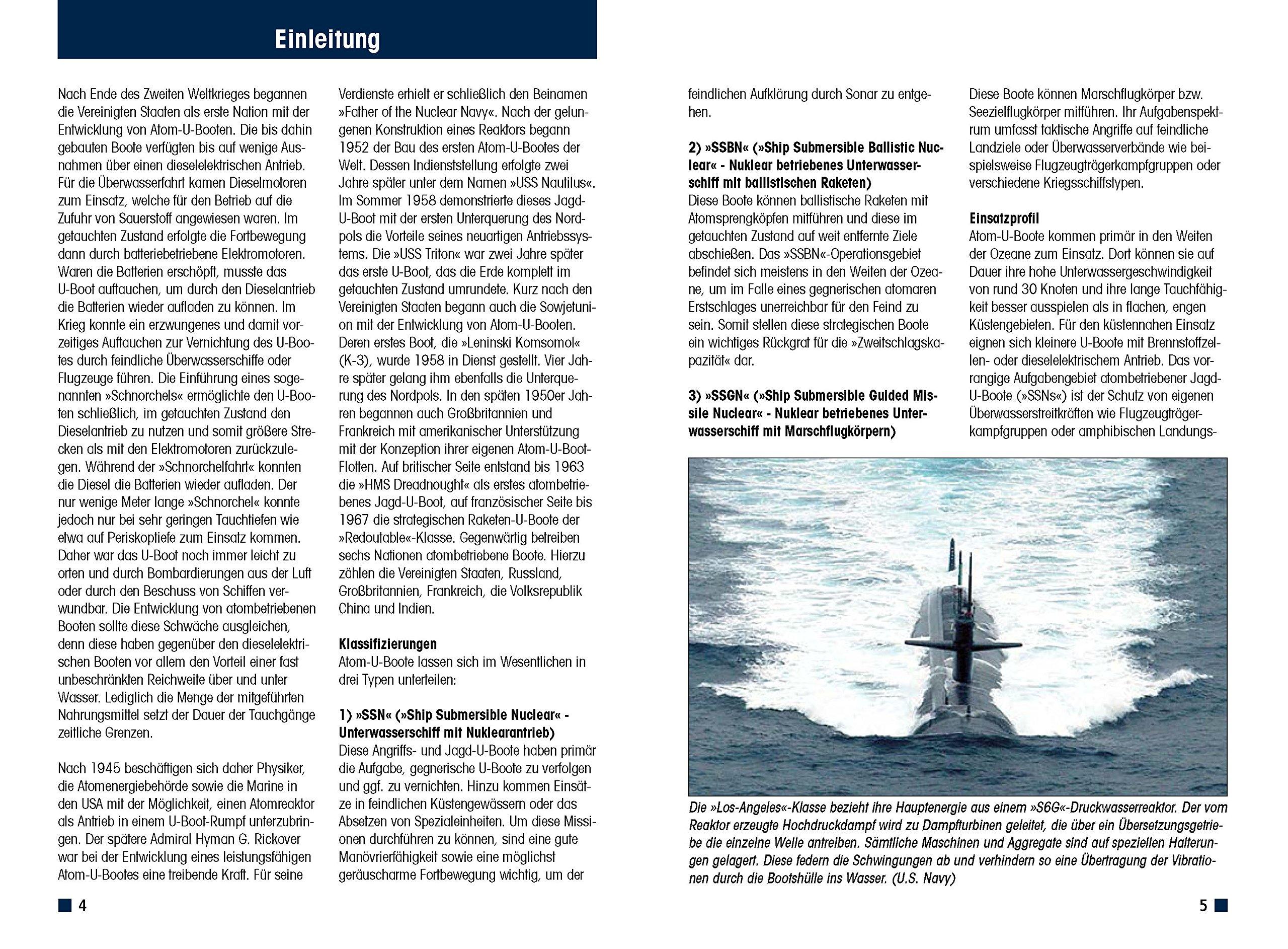 Atom-U-Boote USA England Frankreich Typen Modelle Daten Fakten Buch Book NEU