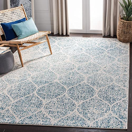Safavieh MAD604E-8 Rug, 8 x 10 , Cream Turquoise