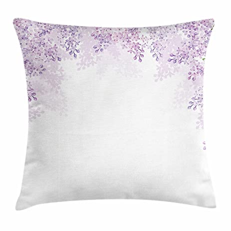 Amazon Purple Throw Pillow Cushion Cover By Ambesonne Framing New Mauve Decorative Pillows