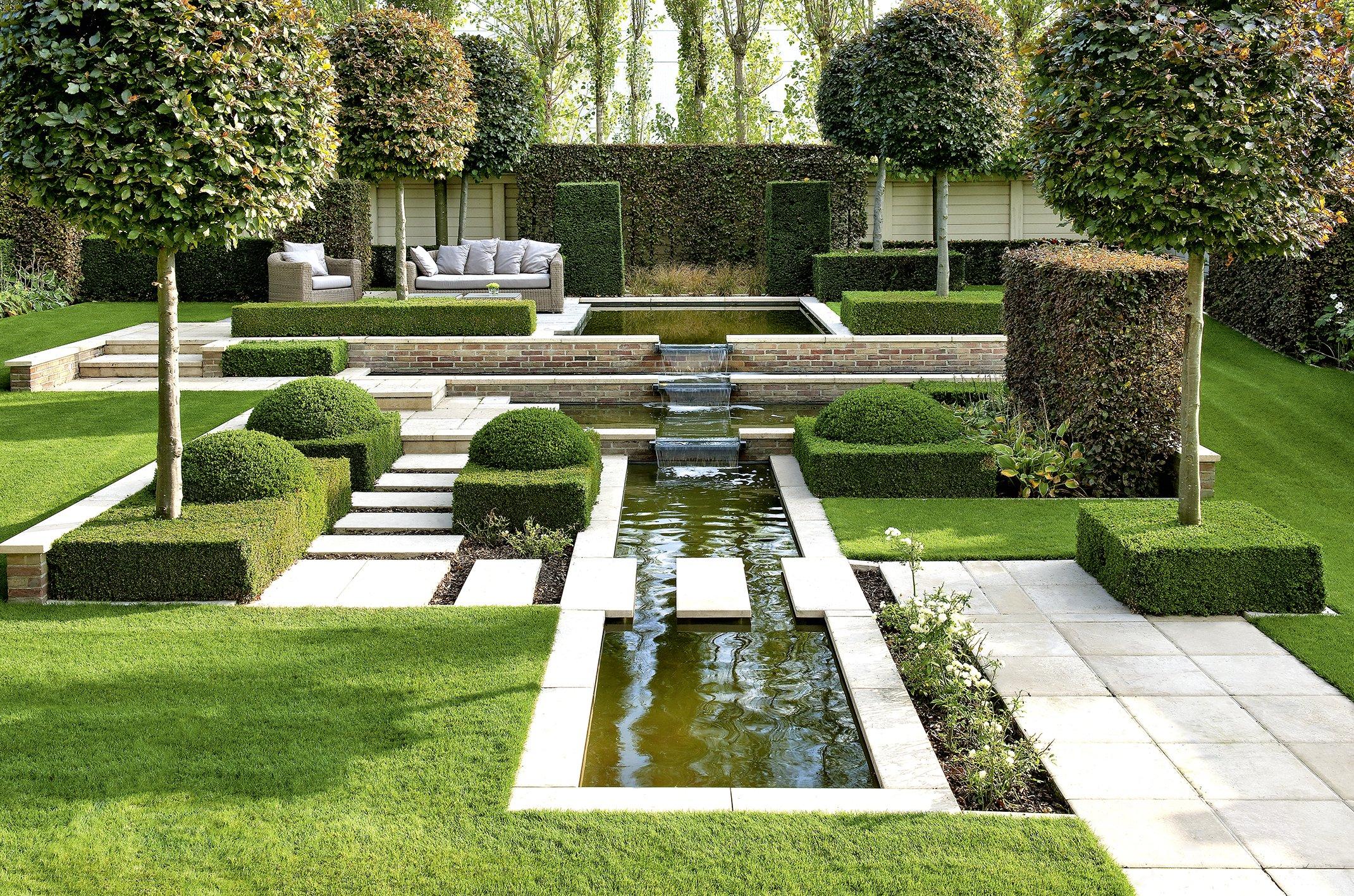 Luxus Pflegeleichte Gärten Beispiele Design
