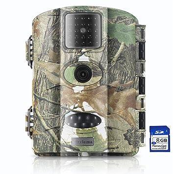 Trail Camera Vizzlema 12MP Wildlife Hunting Camera Game Camera Motion Activated 65ft Long Range No Glow