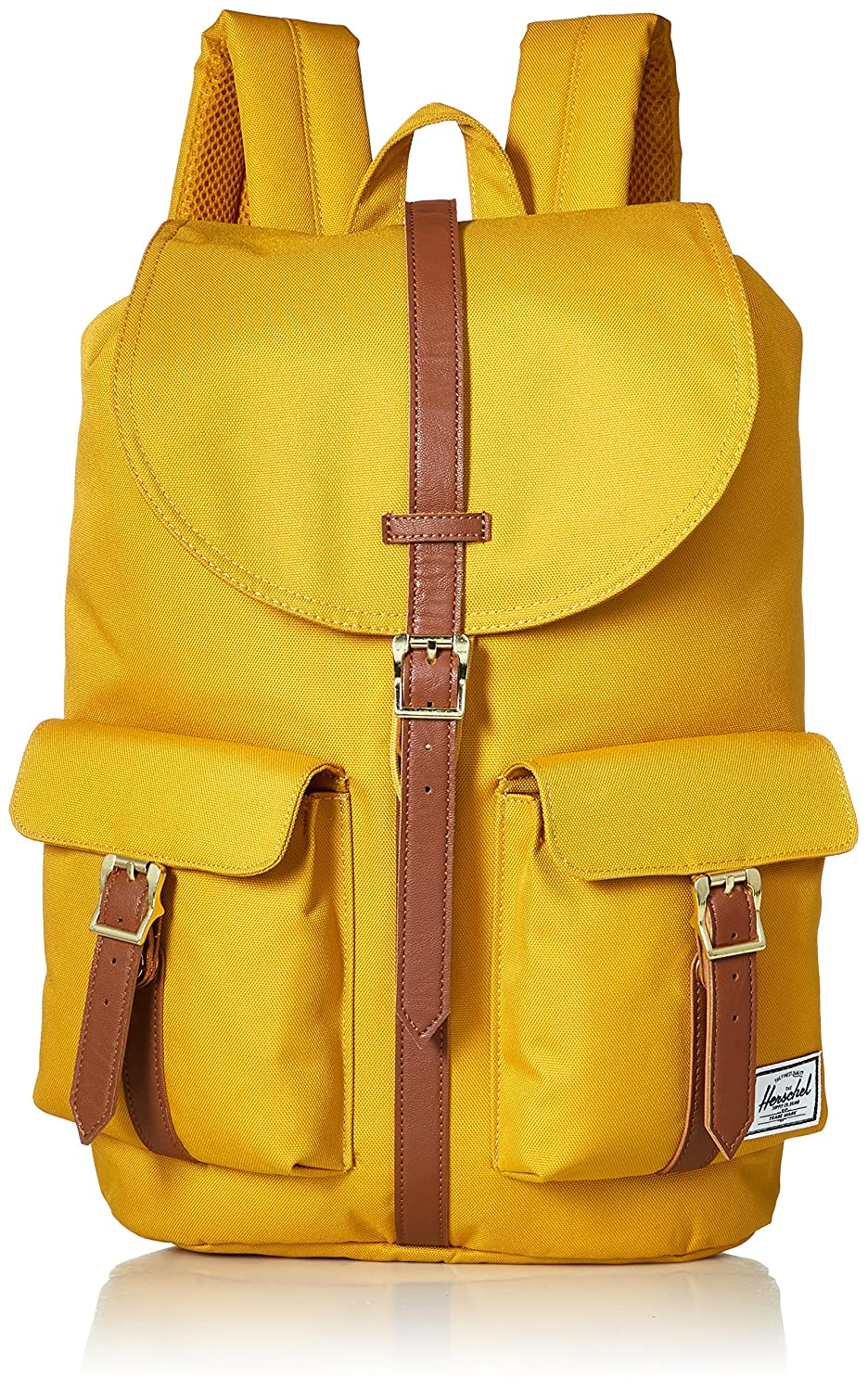 3. Herschel Supply Co. Dawson Backpack, Arrowwood/Tan Synthetic Leather, One Size