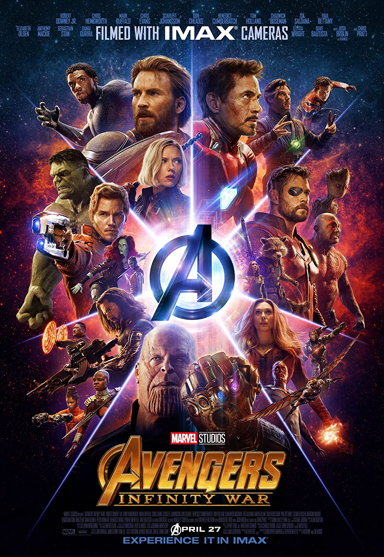 Avengers Infinity War Movie Poster Limited Print Photo Chris Hemsworth  Chris Pratt Chris Evans Tom Hiddleston Robert Downey Jr  Zoe Saldana  Scarlett