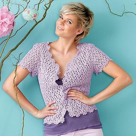 9bc3f13510c5 Bella Estate Gilet con foro modello. Estate Giacca da sè Crochet – Set per  uncinetto
