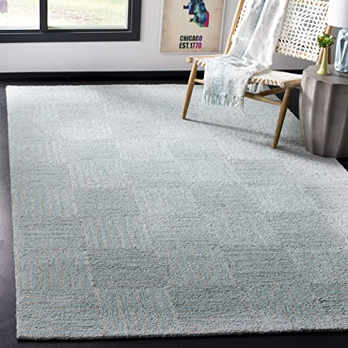Safavieh Abstract Collection Handmade Wool and Viscose Area Rug