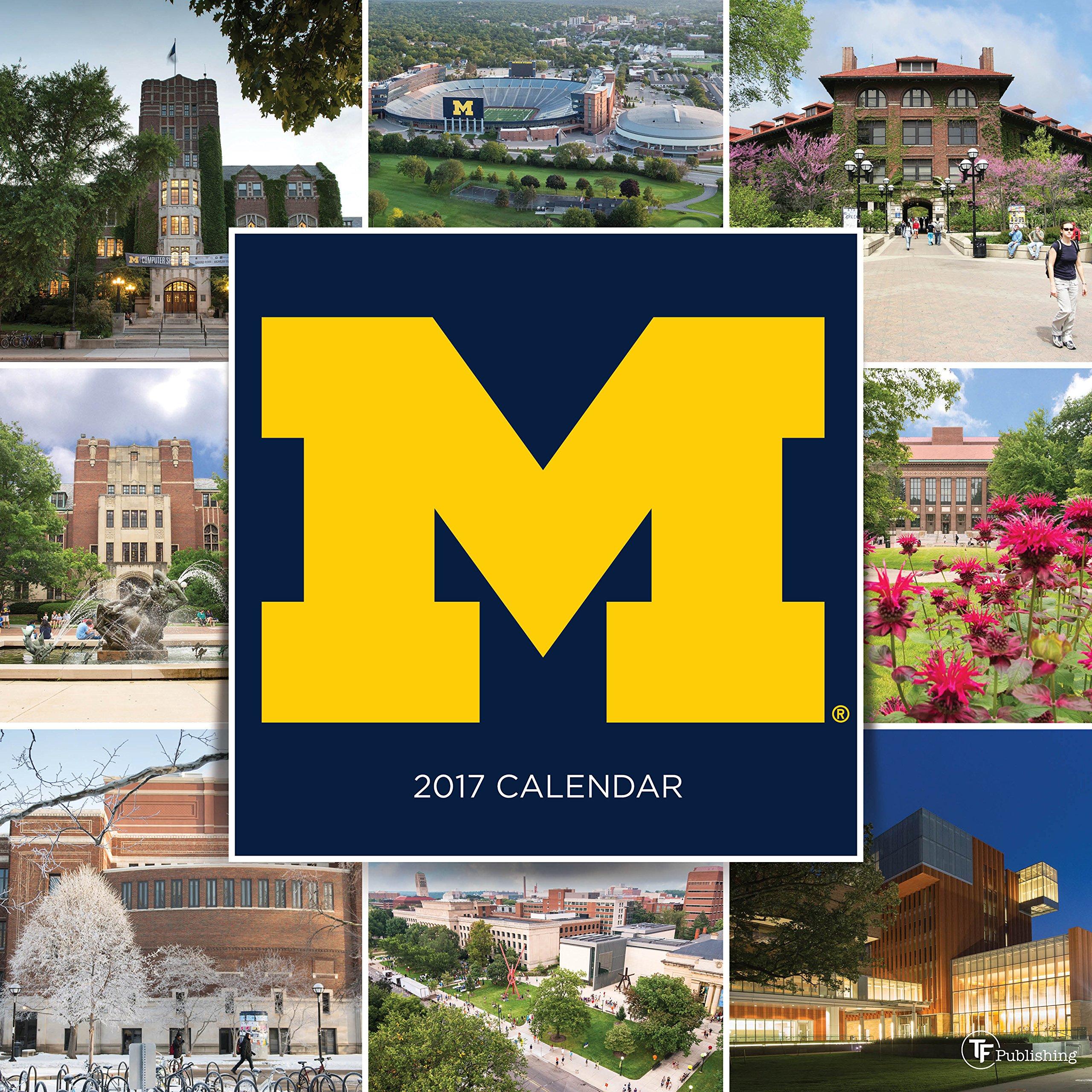 2017 University of Michigan Wall Calendar ebook