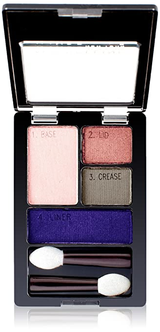 Maybelline New York Expert Wear Eyeshadow Quads, Luminous Lilacs, 0.17 Ounce