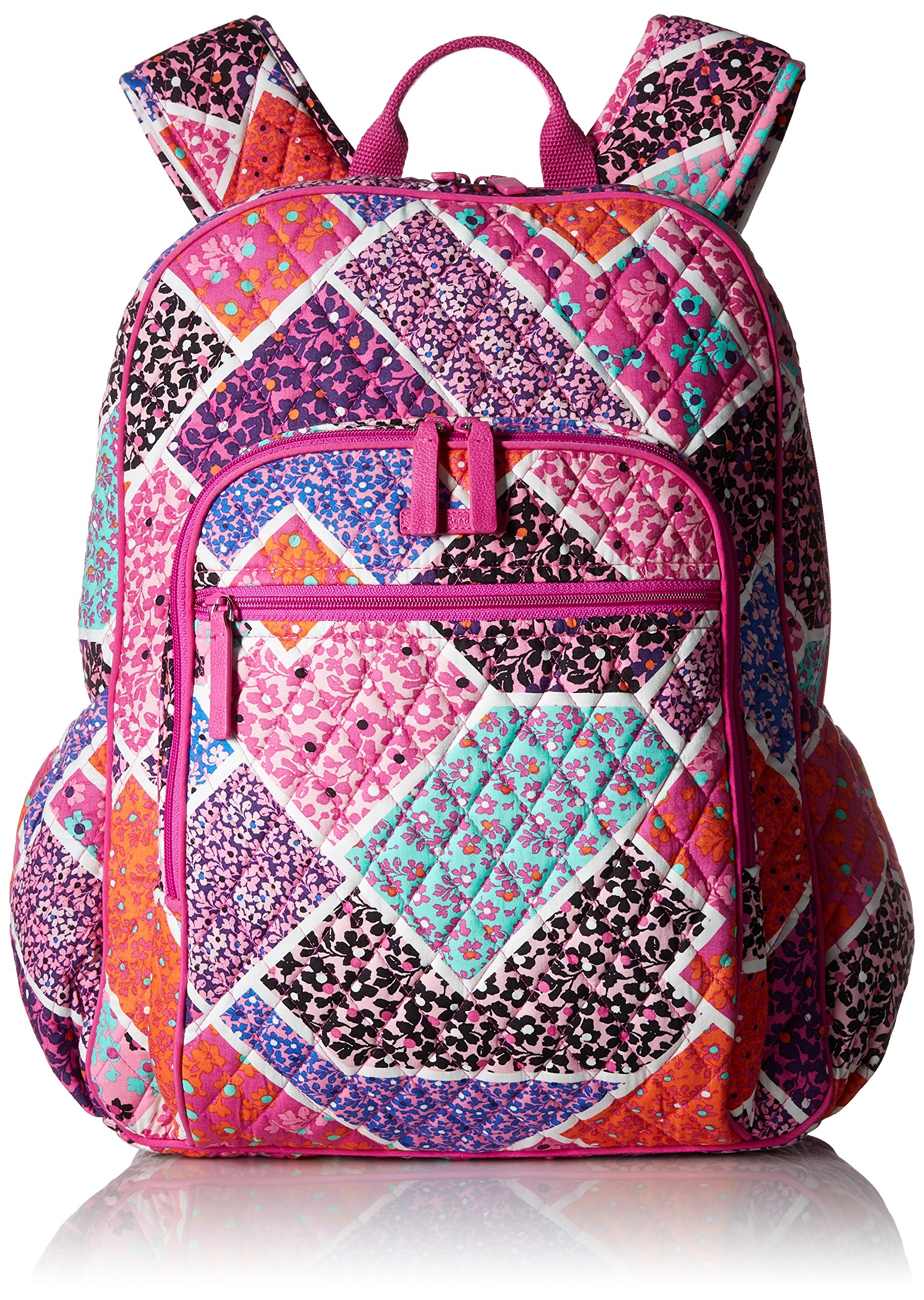 Women's Campus Tech Backpack, Signature Cotton, Modern Medley by Vera Bradley