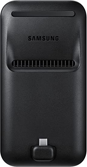 Samsung DeX Pad - Keypad y Cargador para Galaxy S9/S9+, color negro- Version española