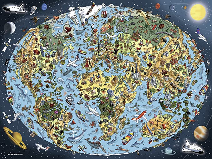 Earth 1500pc Jigsaw Puzzle 16360