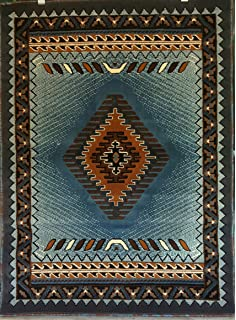 Amazoncom South West Native American Area Rug 8 Ft X 10 Ft Sage