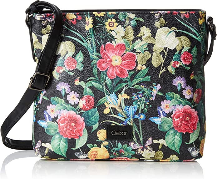 Gabor Damen Granada Bloom Umhängetasche, 26.5x24x6.5 cm