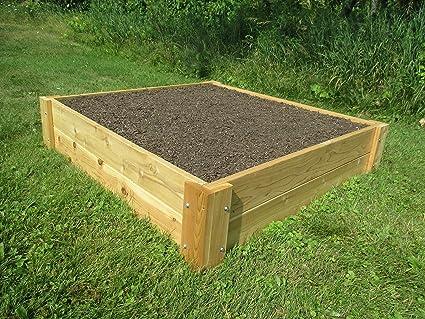 Amazon.com: Raised Bed Garden Kit 4\'x4\'x11\