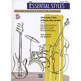 ドラムセット、ベース教則本 「エッセンシャル・スタイル・フォー・ドラマー&ベーシスト2/ESSENTIAL STYLES FOR THE DRUMMER AND BASIST 2」CD付【直輸入版】