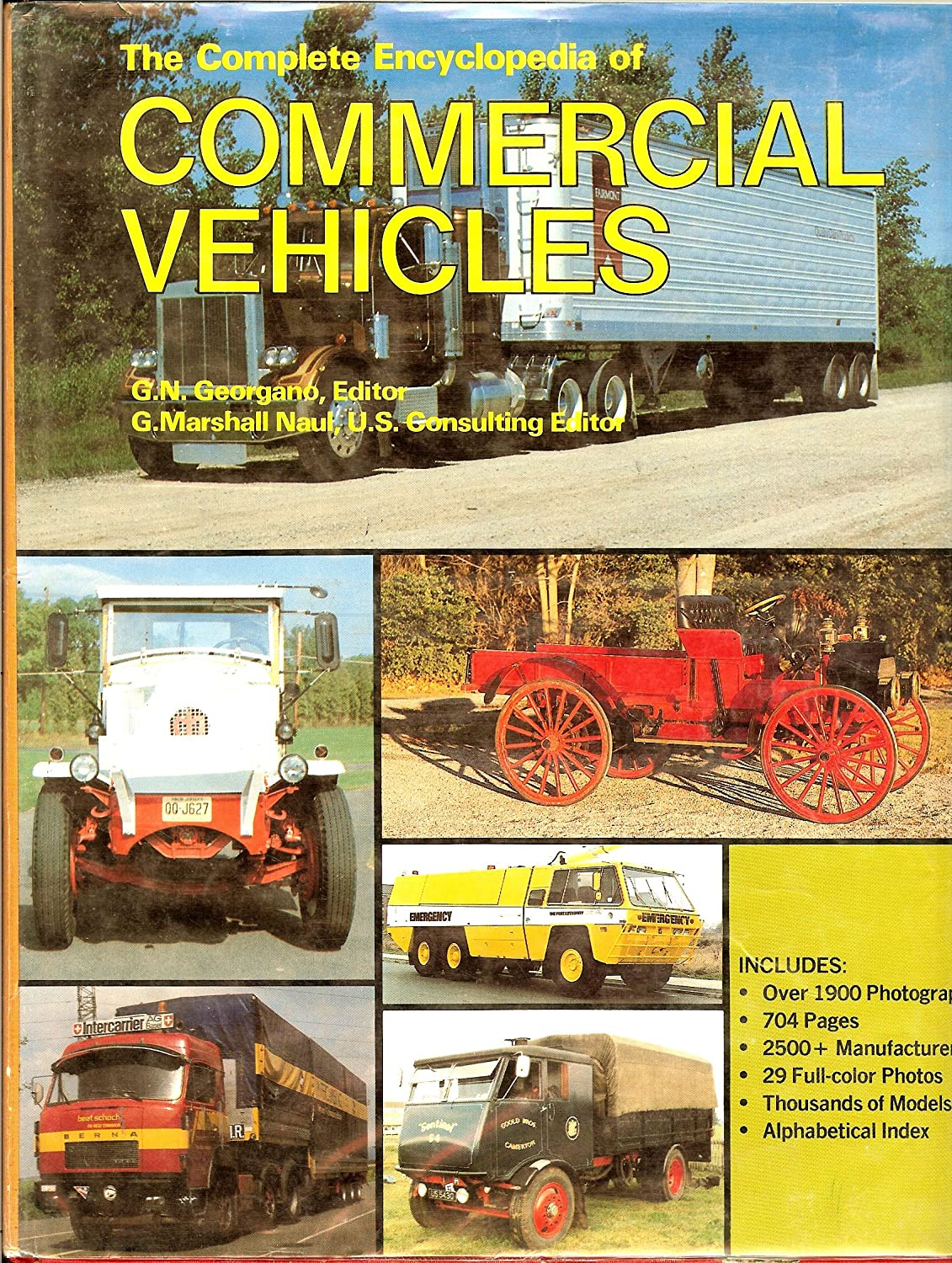 The Complete Encyclopedia of Commercial Vehicles George Georgano