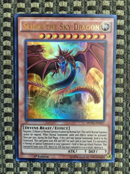 Yu-Gi-Oh! - Slifer the Sky Dragon (MVP1-EN057) - The Dark Side of Dimensions Movie Pack - 1st Edition - Ultra Rare by Yu-Gi-Oh!: Amazon.es: Juguetes y juegos
