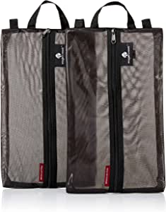 Eagle Creek Pack-it Original Shoe Sac Set - 2 Pc Set, Black (Black) - EC0A3ETW010