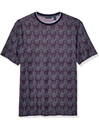 03ea6848 Perry Ellis Men's Big and Tall Big & Tall Printed Short Sleeve Tee Shirt