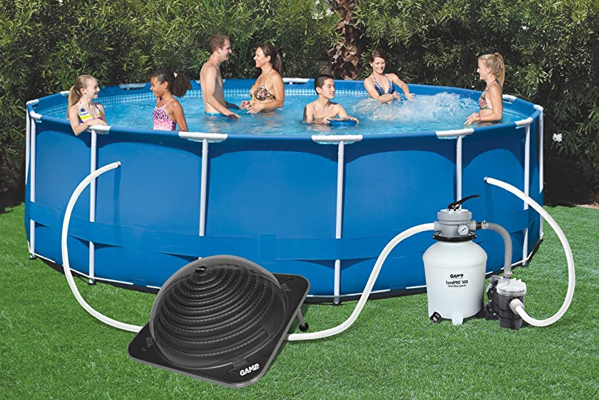 Amazon.com : GAME 4512 SolarPro XD1 Solar Pool Heater with ...