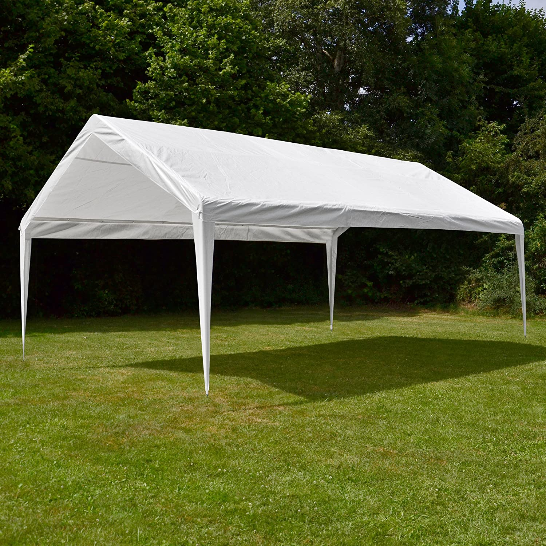 Repuesto Techo Techo para carpa (PE 4 x 6 m Color Blanco: Amazon.es: Jardín