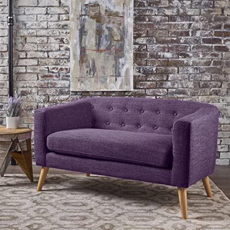 Christopher Knight Home 301295 Bridie Loveseat Muted Purple