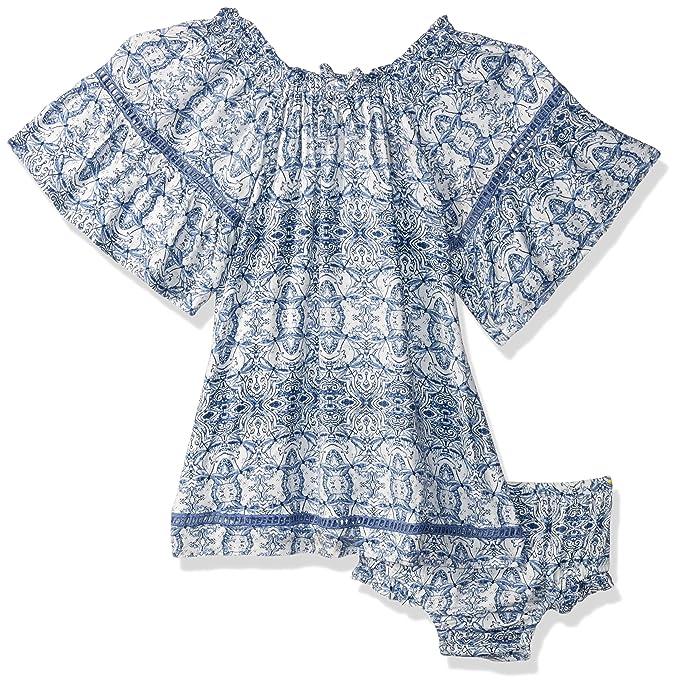 Amazon Com Jessica Simpson Baby Girls Bell Sleeve Fashion Dress