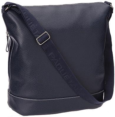 hot sale online f60ca 8e566 Azul De Mujer Bucket Maxi Pack Bandolera Zip Marino zqwYnOWpvP
