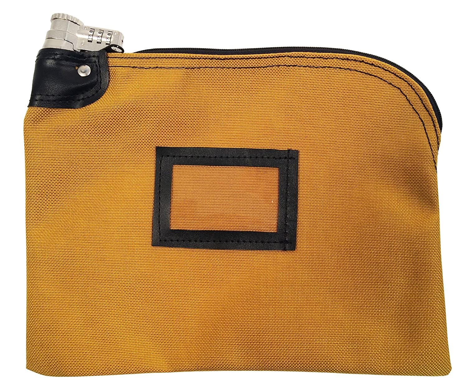 Lockable Bank Bag 1000 Denier Nylon Combination Keyed Security System (Gold) Cardinal Bag Supplies 76161260