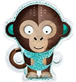 BodyICE Kids Milo the Monkey hot cold pack for kids   Soothe bumps and bruises naturally   Suitable for toddlers and children   Non toxic kids ice pack for head with strap   Designed in Australia by Olympic Champion, Lydia Lassila