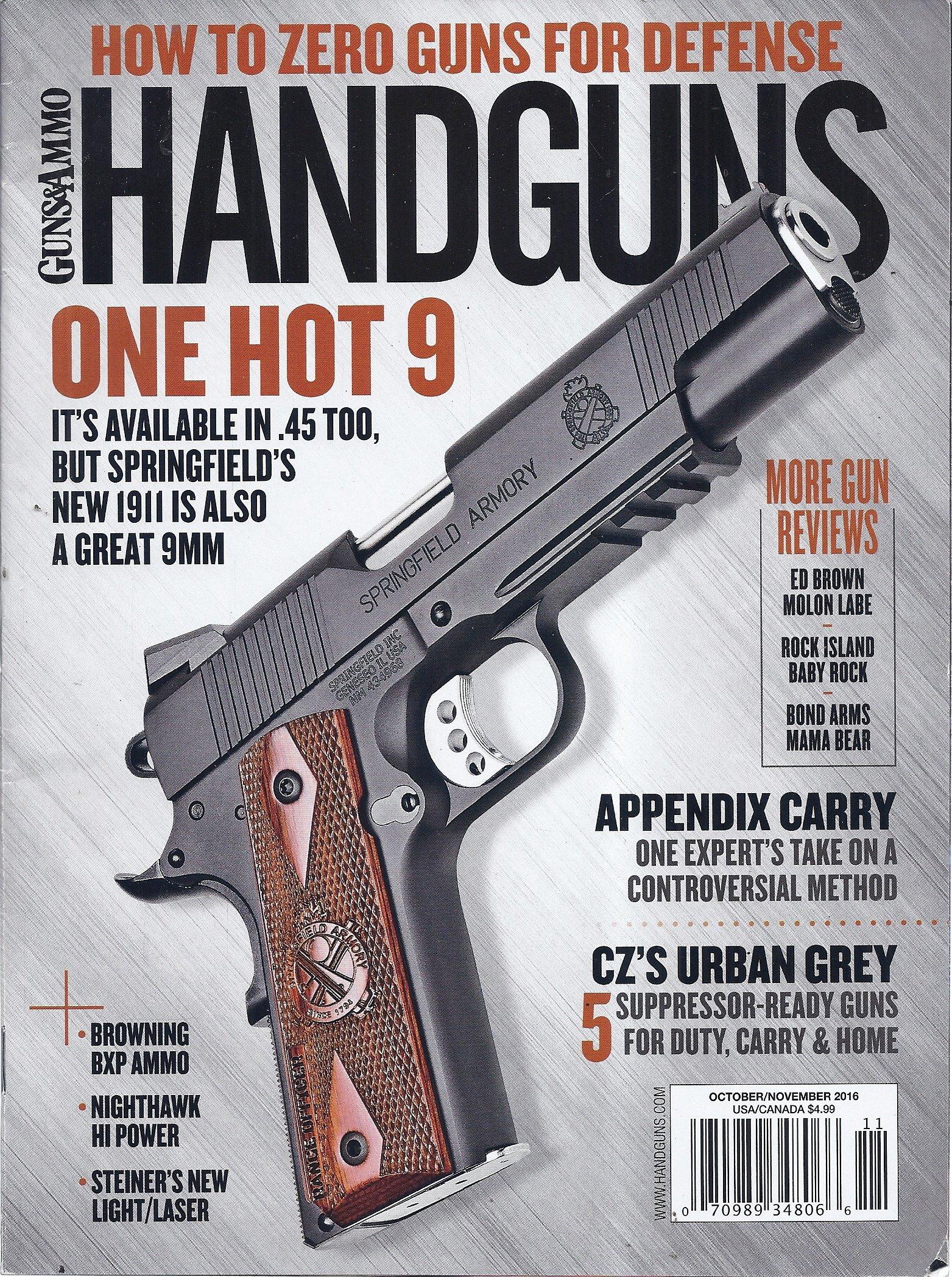 Handguns Magazine (Guns & Ammo - October/November 2016