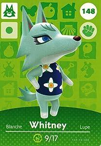 Nintendo Animal Crossing Happy Home Designer Amiibo Card Whitney 148/200 USA Version
