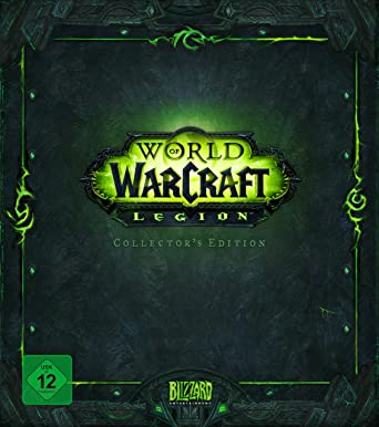 World Of Warcraft Legion Add On Collectors Edition Pc Amazon