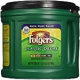Folgers Classic Decaf Ground Coffee, Medium Roast, 30.5 Ounce
