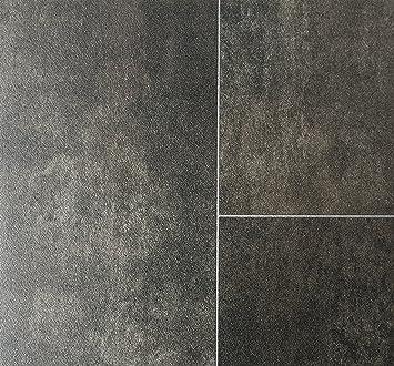 PVC Vinyl-Bodenbelag in edler Fliesen & Natursteinoptik| Muster PVC ...