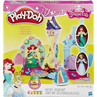 Play-Doh - B1859eu40 - Pâte À Modeler - Château De Crystal des Princesses
