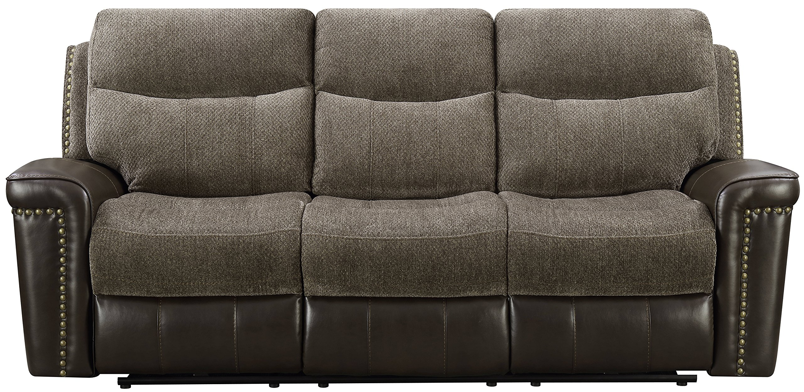 Cambridge 98532DRS-BR Modena Double Reclining Sofa, Brown