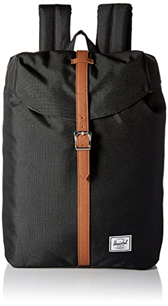 79b52c8cef50 Herschel Supply Co. Post Backpack Black One Size  Amazon.in  Bags ...