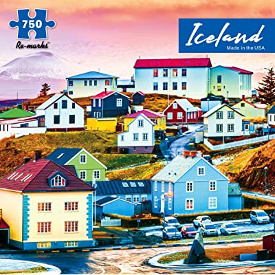 Re-marks Iceland 750 Piece Jigsaw Puzzle: Toys & Games