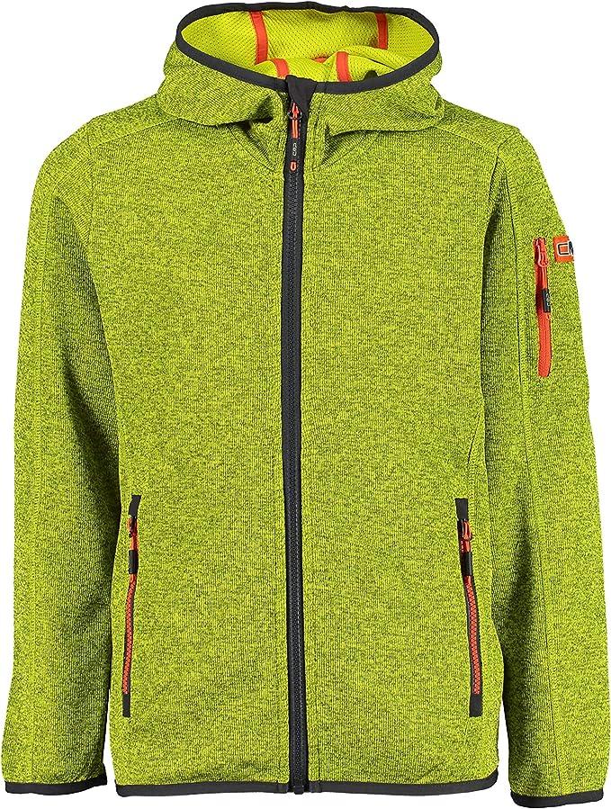 CMP Strickfleece Mit Knit Technology Mit Logo Auf Dem Arm 30h5914 Chaqueta Ni/ños