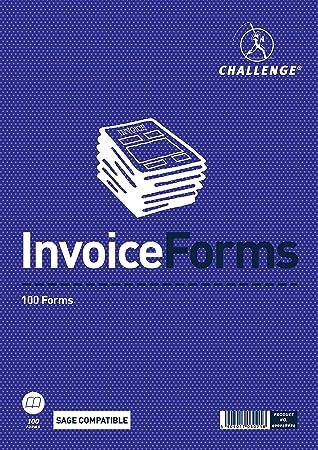 Challenge Duplikat Rechnung Form Pad Amazonde Bürobedarf