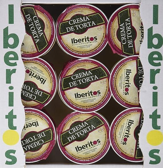 Iberitos Crema de Queso de Torta - Paquete de 18 x 25 gr - Total: 450 gr: Amazon.es: Alimentación y bebidas