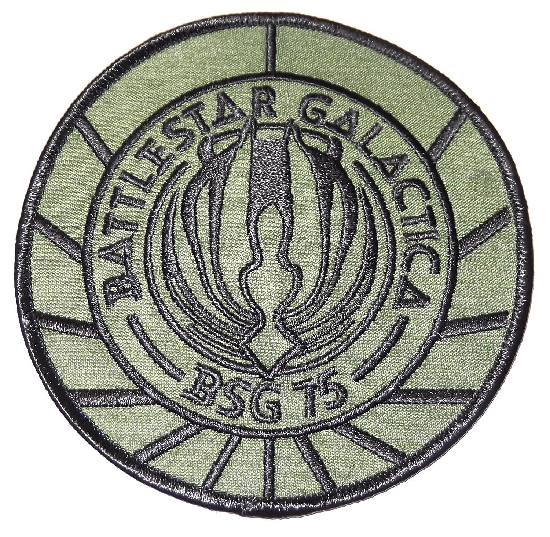 BATTLESTAR GALACTICA BSG-75 UNIFORM LOGO PATCH
