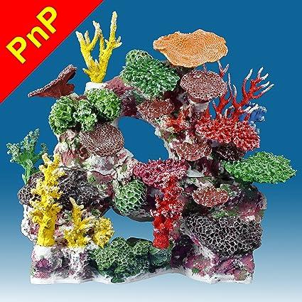 Amazon Com Instant Reef Dm037pnp Fish Tank Decorations Large