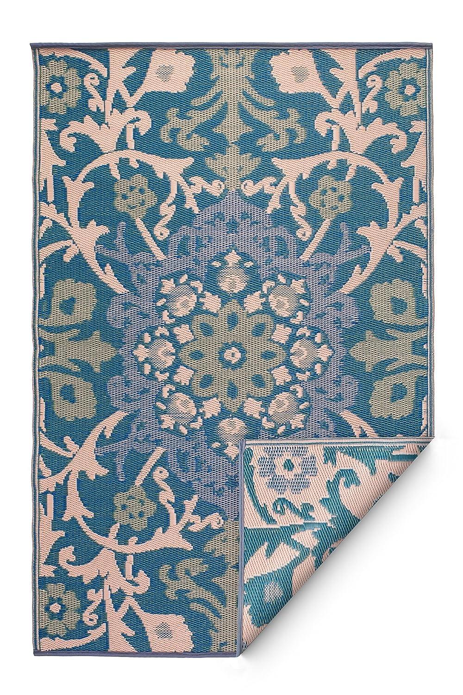 Fab habitat reversible indoor outdoor weather resistant for Indoor outdoor rugs uk