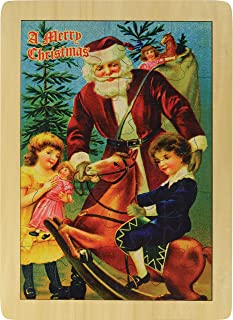 """product image for 11"""" x 15"""" Merry Christmas Santa Puzzle - Made in USA"""