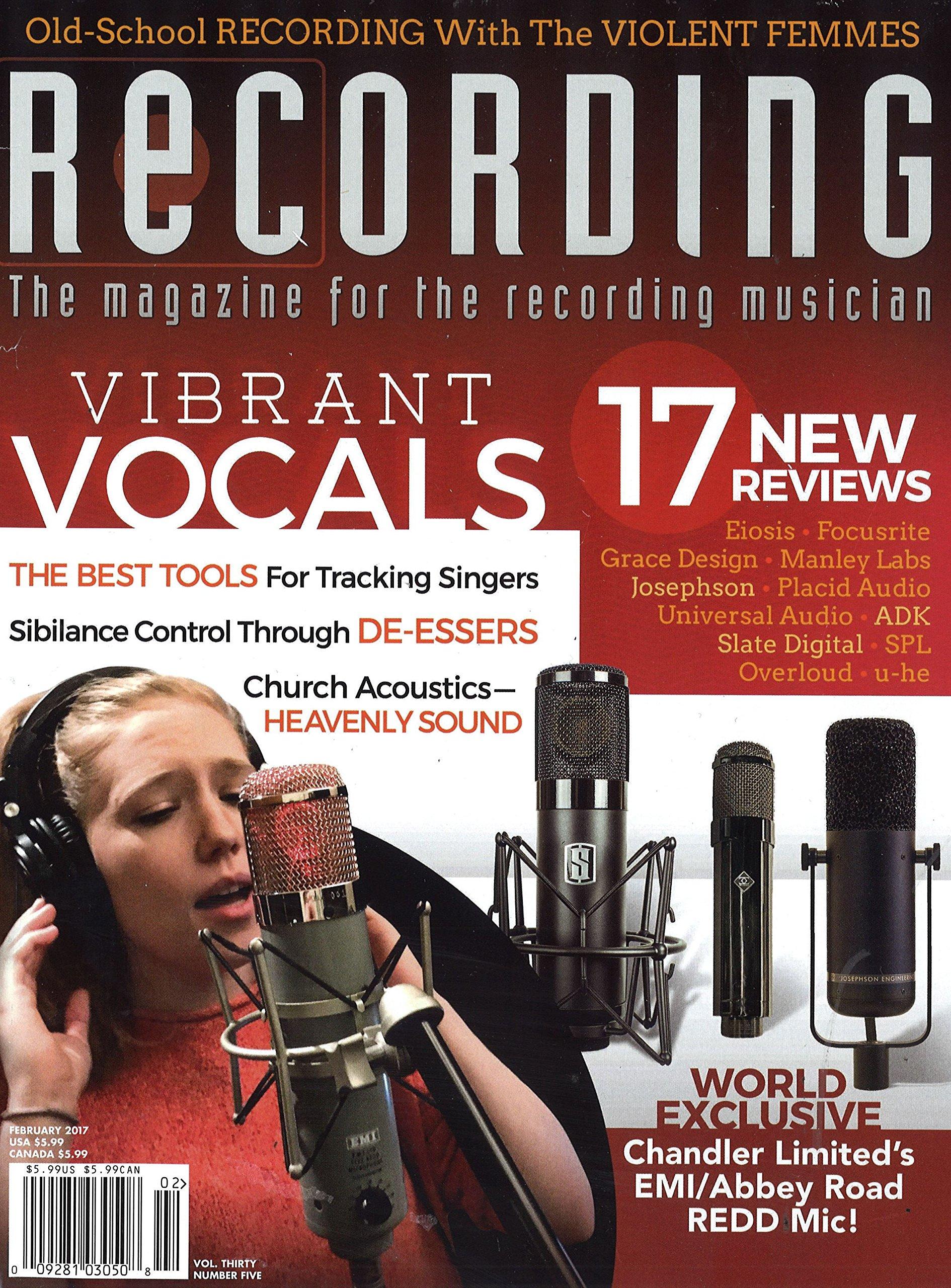 Recording Magazine Print Magazine