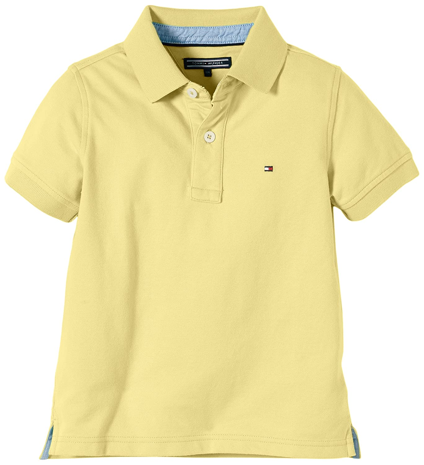 Tommy Hilfiger Tommy Polo S/S / E557117111, Niños, Gelb (865 ...
