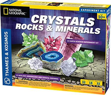 Amazon.com: Earth Science Crystals, Rocks, and Minerals: Toys & Games