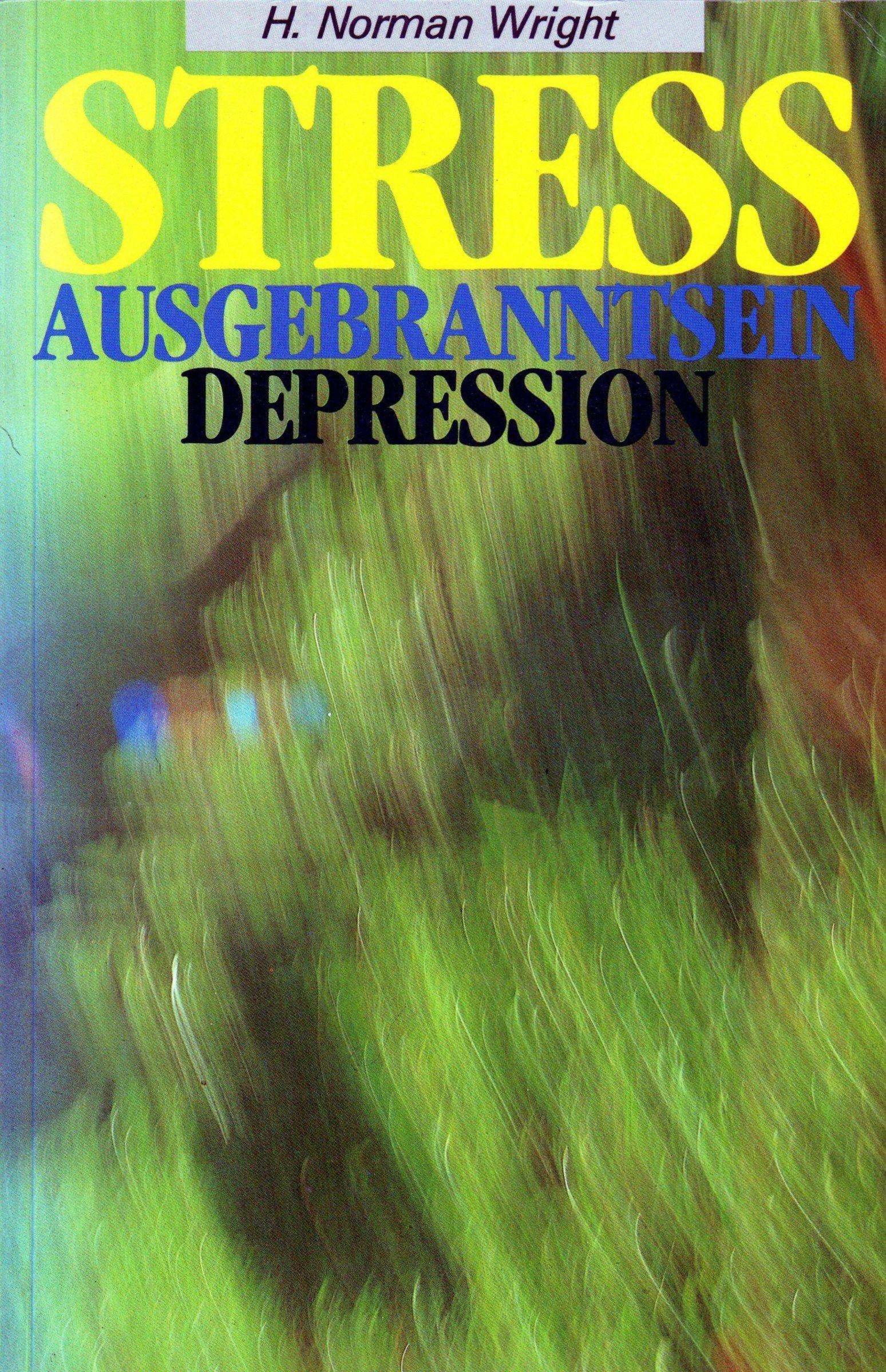 Stress - Ausgebranntsein - Depression. Ursachen und Umgang